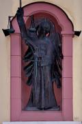 Statue des Heiligen St. Michael in Oberjosbach - Fotograf Albert Wenz
